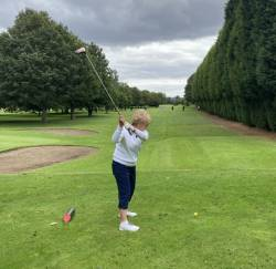 The lady captain's drive-in